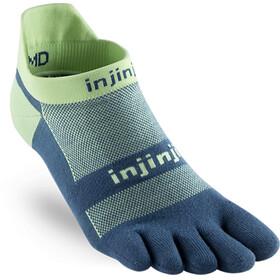 Injinji Run Xtralife Lightweight No Show Socks Herren seafoam